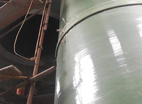 玻璃钢烟囱制作