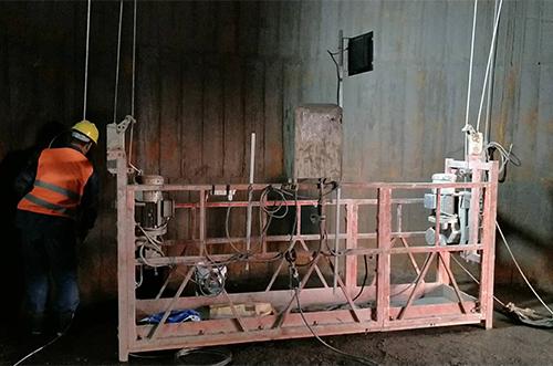 吊篮安装案例