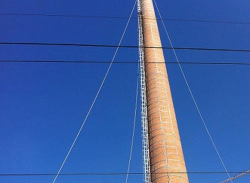高空烟囱维修