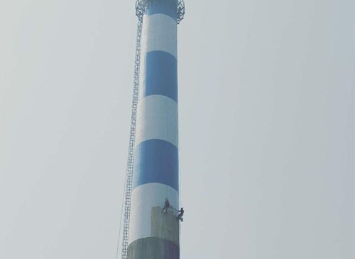 烟囱刷航标漆施工队